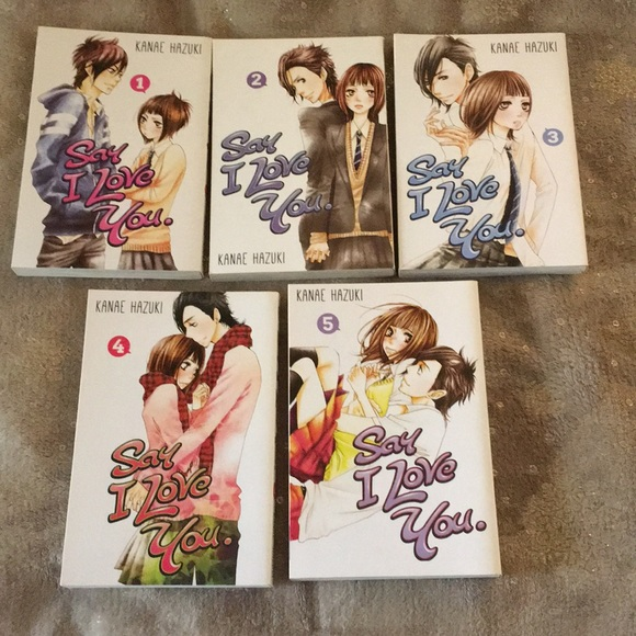 Say I Love You (5 volumes)